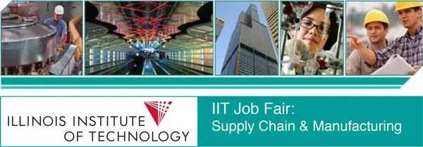 IIT Job Fair header