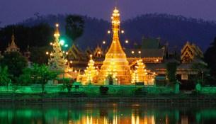 Wat Jong Klang, Mae Hong Son Province, Thailand