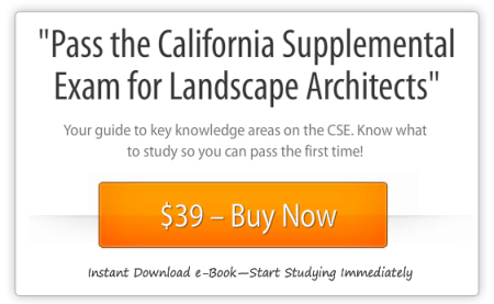 Pass the California Supplemental Exam for Landscape Architects study guide-instant download-Buy Now Button