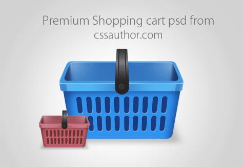 Beautiful Free Shopping Cart Icon PSD - cssauthor.com