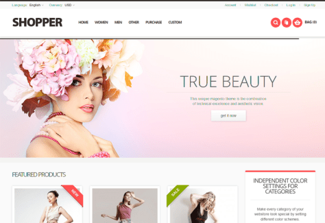 Shopper - Responsive Magento Theme - cssauthor.com