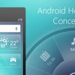 Android Home Screen Concept PSD - cssauthor.com