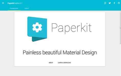 Paperkit Framework