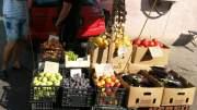 Legume și fructe confiscate de oamenii legii