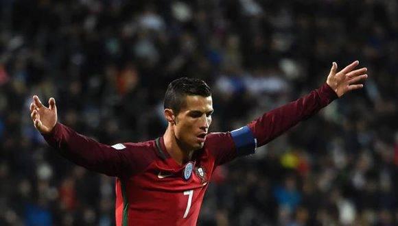 Cristiano Ronaldo. Foto: AFP
