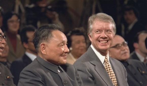 James Carter y Deng Xiaoping