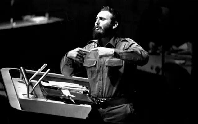 Fidel Castro en un discurso (AP/Archivo)