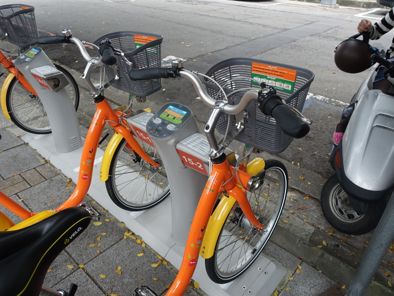 台湾・台中では最初の30分間は無料で乗れるUbike。便利な公営レンタルサイクル「youbike」の利用方法は徹底解説します。
