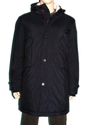 Loro Piana Coat Parka Blue