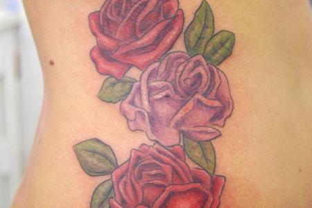 2 rose tattoo