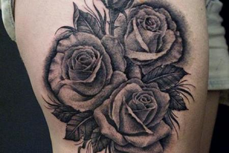 36 rose tattoo