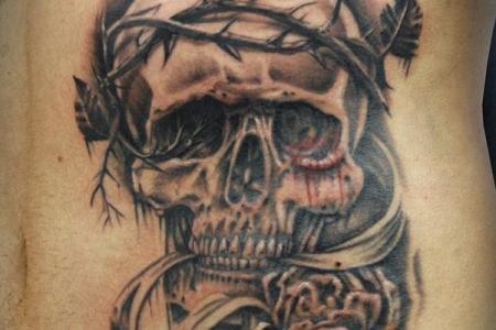 29 skull tattoo