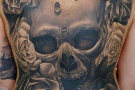 37 skull tattoo