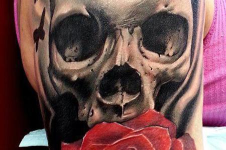 53 skull tattoo11