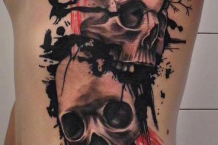 56 skull tattoo1