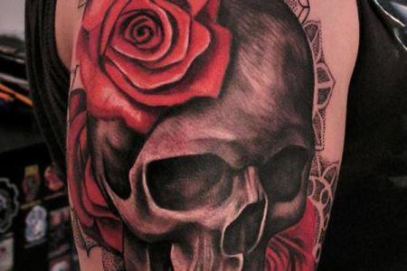 57 skull tattoo1