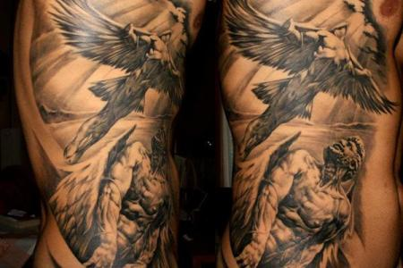angel tattoo for men