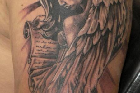 angel tattoo 2
