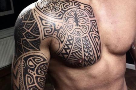 22 maori tattoo