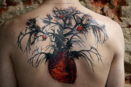 23 tree tattoo