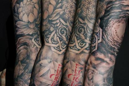 24 sleeve tattoo