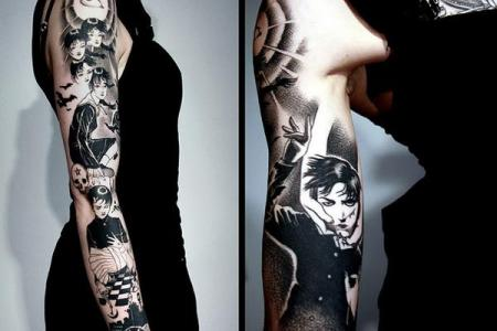 3 sleeve tattoo