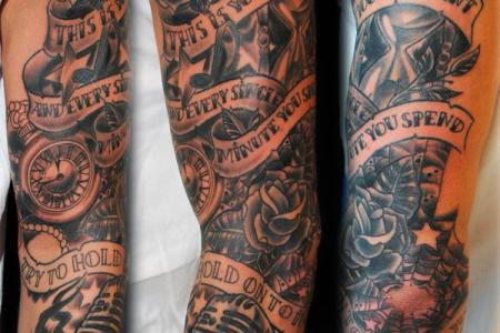 30 sleeve tattoo