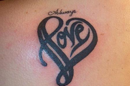 33 heart tattoo