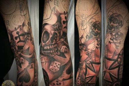 5 sleeve tattoo