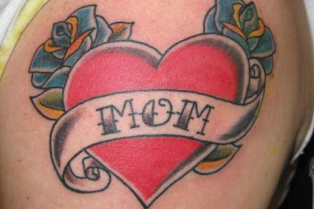 8 heart tattoo