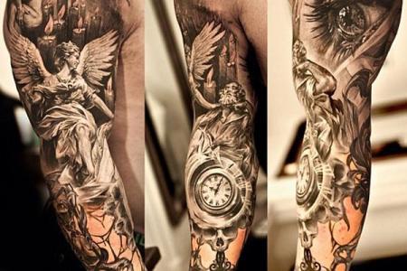 15 full sleeve tattoo