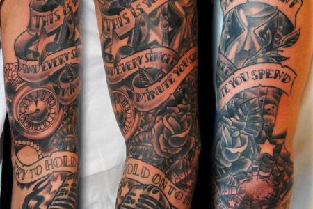 30 full sleeve tattoo