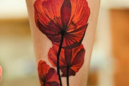 48 flower tattoo1