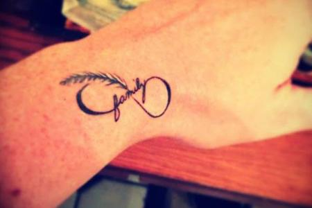 26 cute small infinity tattoo for girls