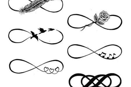18 infinity symbol tattoo design