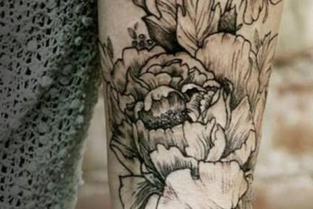 1 flowers arm tattoos