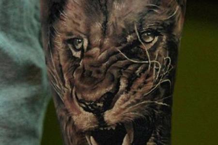 16 lion tattoo