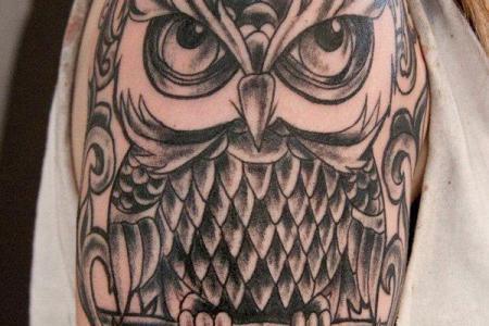 18 owl tattoo1