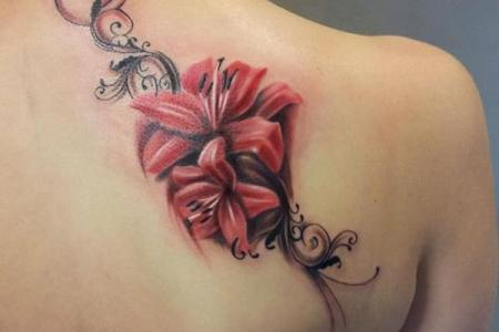 19 flower tattoo designs for women