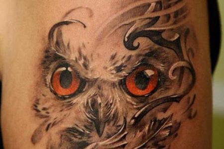 30 owl tattoo1