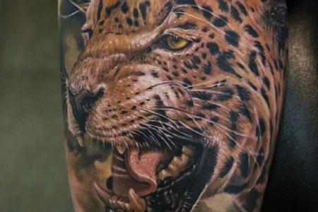 1 3d tiger tattoo