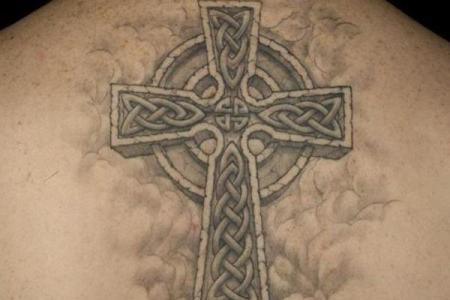 2 celtic cross tattoo