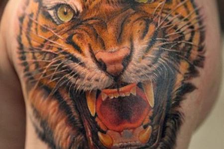 4 tiger tattoo