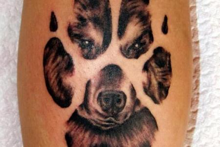 40 wolf tattoo