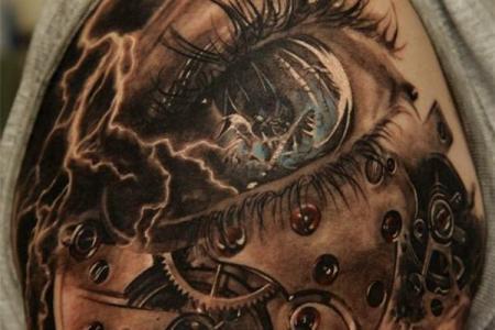 clock eye tattoo600 905 600x905