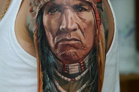 native american tattoo 21