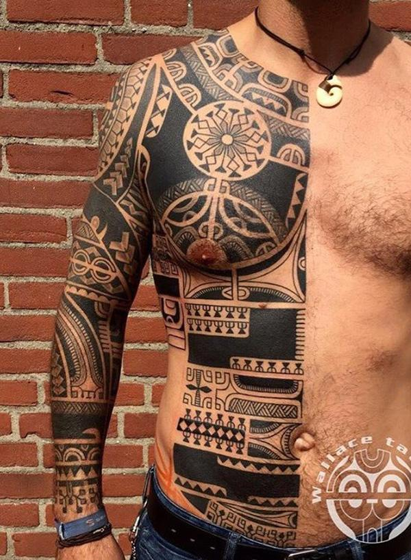 The Symbolic Identity of the Marquesan Tattoo of 36 by Tracy