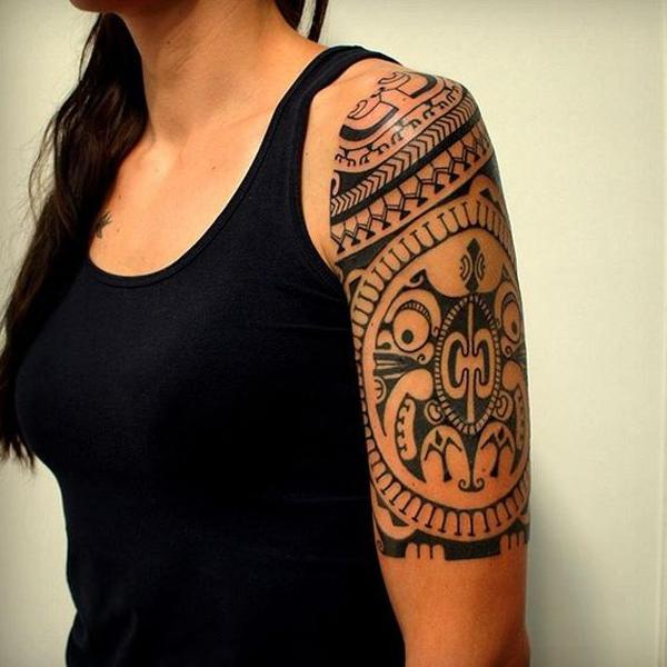 The Symbolic Identity of the Marquesan Tattoo of 37 by Tracy