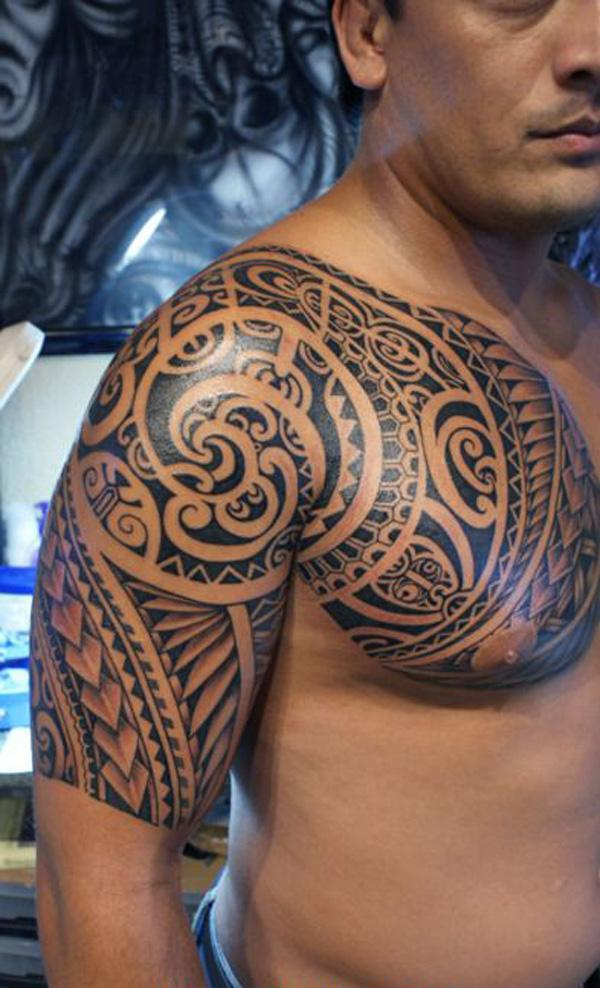 The Symbolic Identity of the Marquesan Tattoo of 16 by Tracy