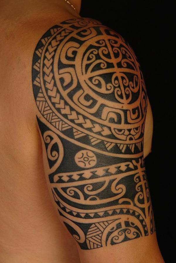 The Symbolic Identity of the Marquesan Tattoo of 24 by Tracy